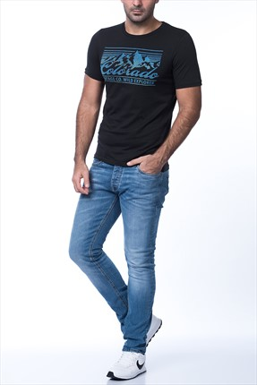 Jack & Jones Mavi Jean - Tim Am078 -