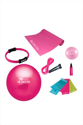 Delta Delta 65 cm Ultimate New Collection Deluxe Pilates Seti - Unc 60