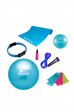 Delta Delta 65 cm Ultimate New Collection Deluxe Pilates Seti - Unc 65