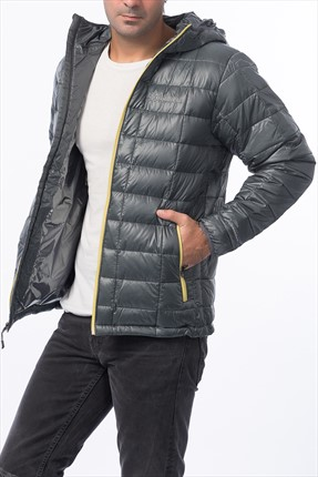 Columbia Erkek Trask Mountain 650 Hooded Jkt Mont