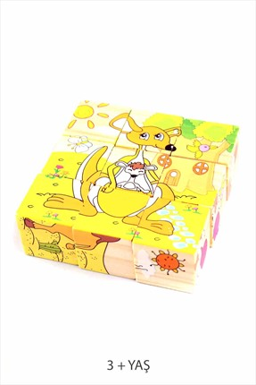 Learning Toys Wooden Puzzle Cubes Kupbl-5