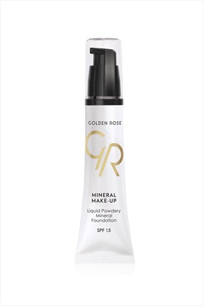 Golden Rose Suya Dayanıklı Fondöten - Liquid Powdery Mineral Foundation No: 14