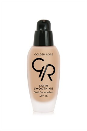Golden Rose Likit Fondöten - Satin Smoothing Fluid Foundation Spf 15 No: 35