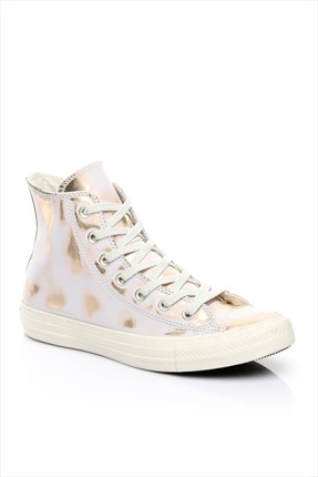 Converse Kadın Chuck Taylor All Star Buff/Light Gold/Buff Ayakkabı