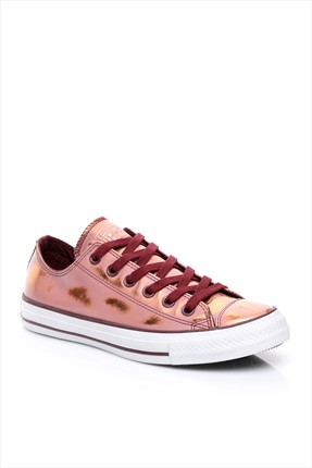 Converse Kadın Chuck Taylor All Star Deep Bordeaux/Blush Gold/White Ayakkabı