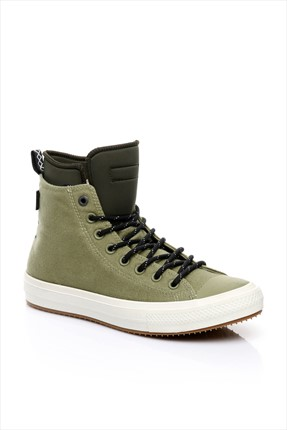 Converse Erkek Chuck Taylor All Star Ii Boot Fatigue Green/Green Onyx/Egret Ayakkabı