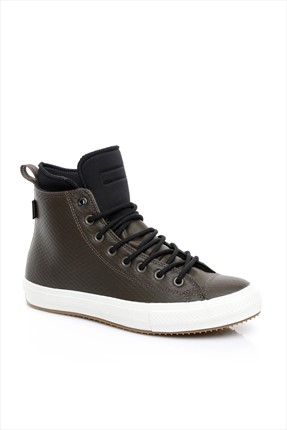 Converse Erkek Chuck Taylor All Star Ii Boot Dark Chocolate/Black/Egret Ayakkabı