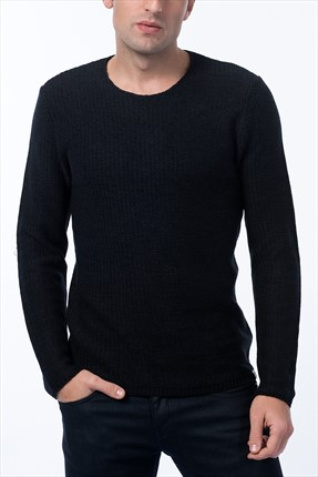 Jack & Jones Kazak - Swing Originals Knit Crew Neck Camp -