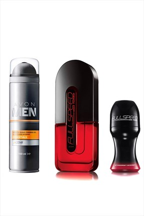 AVON Full Speed Turbo Edt 3'lü Erkek Parfüm Seti