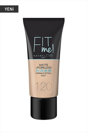 Maybelline Fondöten - Fit Me Matte + Poreless Foundation 120 Classic Ivory 30 ml