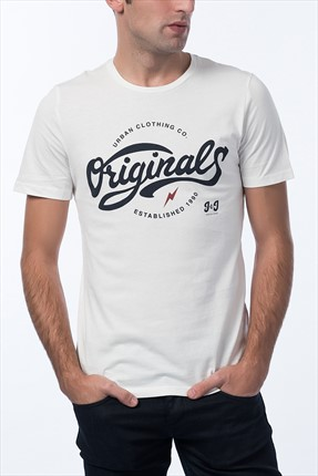 Jack & Jones T-Shirt - Serra Originals Tee SS Crew Neck