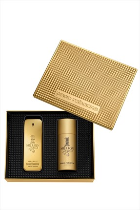 Paco  Rabanne 1 Million Edt 100 ml + Deodorant 150 ml Erkek Parfüm Seti