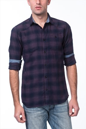 Jack & Jones Mor Gömlek - Loader Shirt LS -