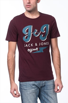Jack & Jones T-Shirt - Serra Originals Tee SS Crew Neck -