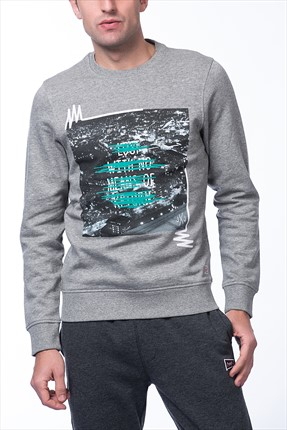 Jack & Jones Sweatshirt - Cutting Originals Sweat Crew Neck -