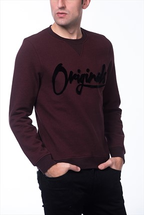 Jack & Jones Sweatshirt - Wire Originals Sweat Crew -
