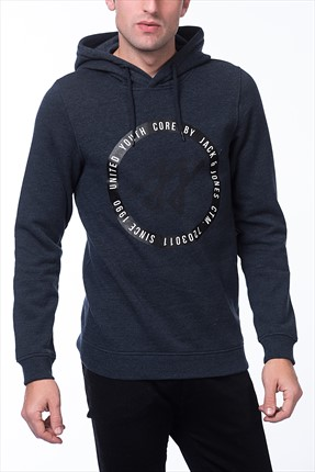 Jack & Jones Sweatshirt - Albert Core Sweat Hood -