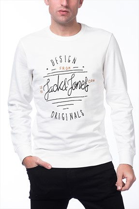 Jack & Jones Sweatshirt - Type Originals Sweat Crew Neck -