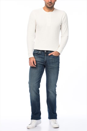 Levi's Erkek 514 Slim Straight Fit Jean 00514 Slim Straight-0732
