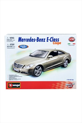 Burago Mercedes Benz E-Class Coupe Gold Kit