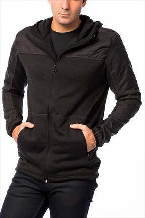 Quiksilver Erkek Lodge Fleece M OTLR CSN0 Sweatshirt -