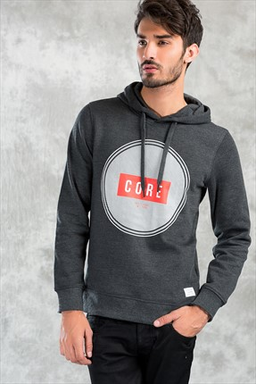 Jack & Jones Sweatshirt - Cross Core Sweat Hood -