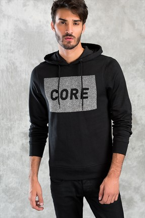 Jack & Jones Sweatshirt - Paris Core Sweat Hood -