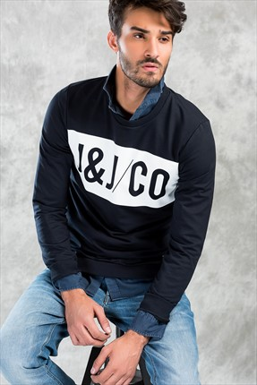 Jack & Jones Sweatshirt - Aron Core Sweat Crew Neck -