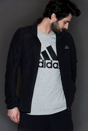 Adidas Erkek Outdoor Sweatshirt - Ht Fleece J -