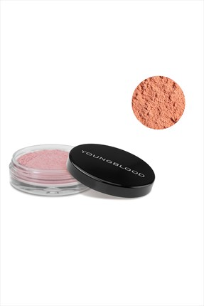 YOUNGBLOOD Mercan Rengi Toz Mineral Allık - Crushed Minral Blush Coral Reef 3 Gr