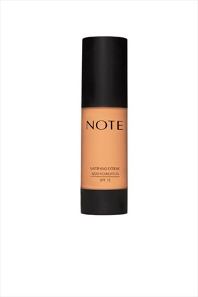 Matlaştırıcı Etkili Fondöten - Mattifying Extreme Wear Foundation 03 Medium Beige Note