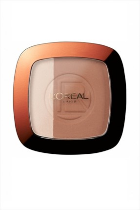 L'Oreal Paris Bronz Pudra - Glam Bronze Duo Powder No: 102