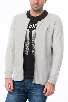 Jack & Jones Sweatshirt - Soul Originals Bomber Zip Sweat -