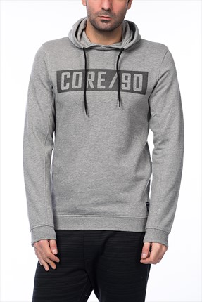 Jack & Jones Sweatshirt - Bovid Core Sweat Hood-Crew Neck -