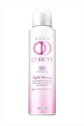 AVON On Duty Light Bloom Antiperspirant Deodorant 150 ml