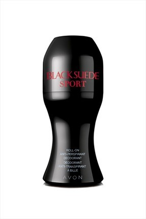 AVON Black Suede Sport Redesign Erkek Roll-On 50 ml