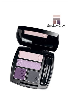 AVON Ultra Colour 4'lü Göz Farı - Smokey Grey
