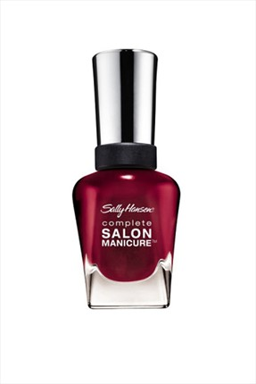 Sally Hansen Oje - Complete Salon Manicure No: 610 Red Zin