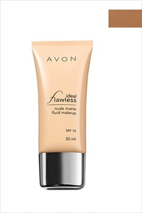Avon Mat Fondöten - Ideal Flawless Nude Matte Fluid Makeup Cappuccino 30 ml