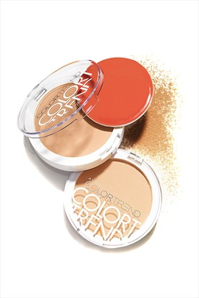 AVON Yağ Kontrol Etkili Pudra - Color Trend Powder Light