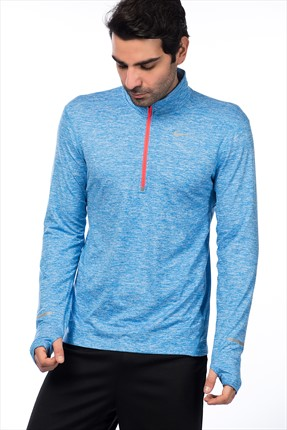 Nike Erkek Sweatshirt - Dri-Fit Element Hz