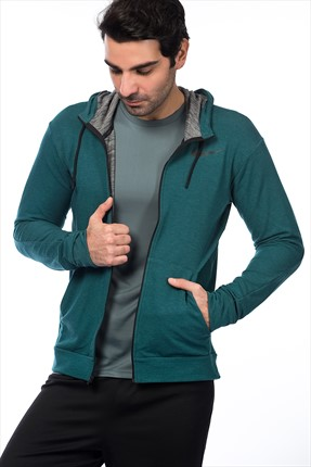 Nike Erkek Sweat - Dri-Fit Training Fleece Fz Hdy