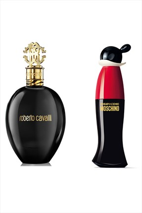 Roberto Cavalli Nero Assoluto Edp 75 ml + Cheap & Chic Edt 30 ml Kadın Parfüm Seti