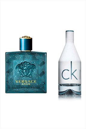 Versace Eros Edt 100 mL + In2U Edt 50 mL Erkek Parfüm Seti