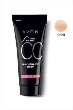 AVON Ideal Flawless CC Krem Spf 50 Shell 30 ml