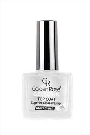 Golden Rose Parlaklık Verici Tırnak Cilası - Gel Look Top Coat 10,5 mL