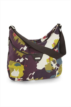 Mamas Papas Mamas Papas Ellıs Shoulder Bag Water Colour Floral