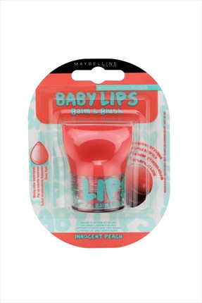 Maybelline Dudak ve Yanak Balmı - Baby Lips Balm & Blush 01 Innocent Peach