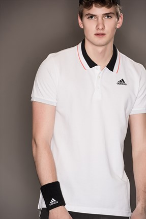 Adidas Erkek Performans Polo Yaka T-shirt - Ess Polo -