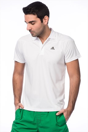 Erkek Antrenman Polo Yaka T-shirt - Base Plain Polo -